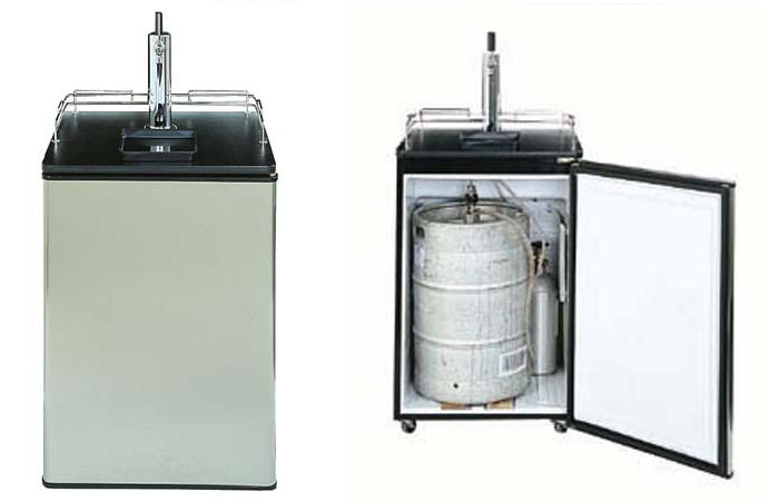 Two Types of Single Tap Kegerators For Your Home Bar