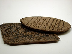 Coasters Leather